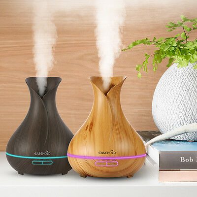 Aroma Mist Diffuser LED Essential Oil Ultrasonic Humidifier Air Purifier AU