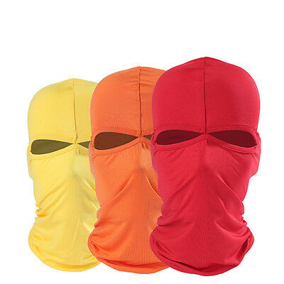 Unisex Sport Motorcycle Cycling Ski Full Cover Neck Face Mask Balaclava Soft UK