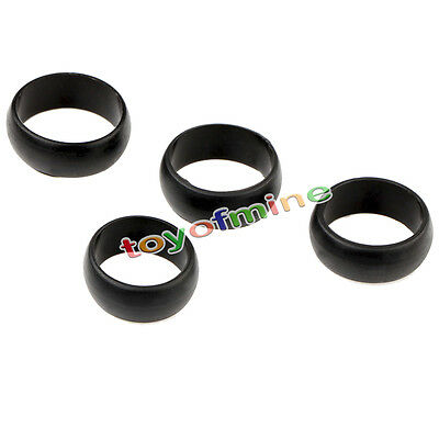 4 Silicone Rubber Ring Band Wedding Engagement Outdoor Cocktail SIZE 9.10.11.12