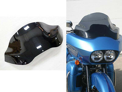 "12"" Dark Smoke Flare Windshield for 1998-2013 Harley Road Glide FLTR FLTRX"