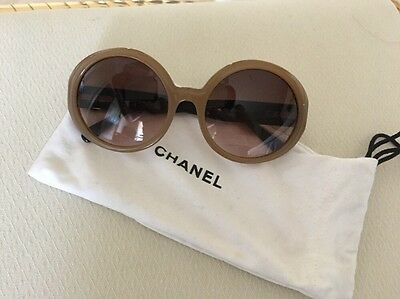 Authentic CHANEL Retro Vintage Sunglasses Excellent Used Condition