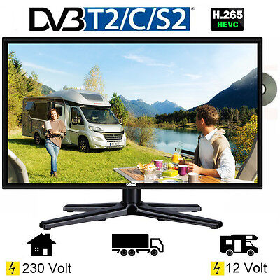 telefunken l24h274 dvd led tv 24 zoll dvb s s2 t2 c 12. Black Bedroom Furniture Sets. Home Design Ideas