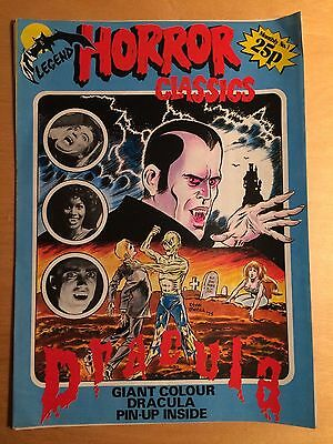 Legend Horror Classics #1 Signed by Gent Shaw and Steve Jones