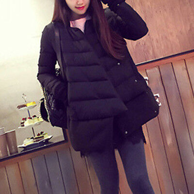 New Maternity Cotton Coat Trendy Solid Color Pregnant Outerwear Warm Soft Jacket