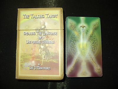 The Talking Tarot Cards Deck & Booklet Set Box By She' D'montford - Out Of Print