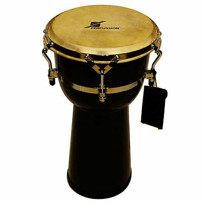 "10"" Tunable Djembe ABS Shell Buffalo Hyde Skin Quick Easy Tuning DP Percussion"