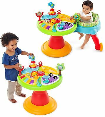 Bright Starts Activity Table Around We Go Baby Walkers And Toddler Play Center
