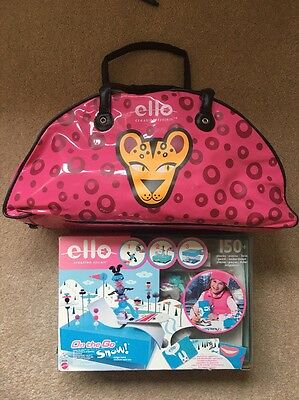 Ello Creative System Pink Bag + On The Go Snow 100's Pieces Mattel Part Sealed