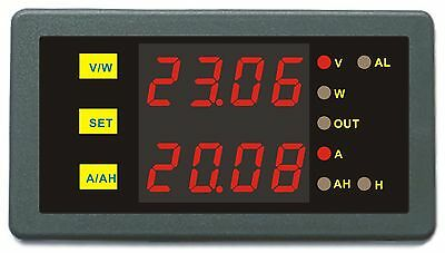 DC 0-75V 0-20A Battery Monitor Charge Status Prevent Over-charge Over-discharge
