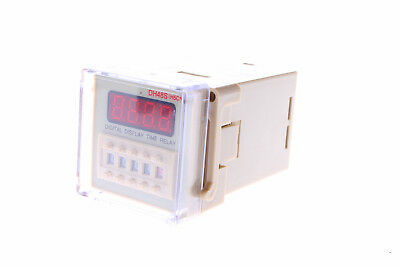 DH48S-2Z LCD Display Timer Relay 8-Pin DPDT 0.01S-9999H DC12V