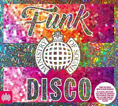 FUNK THE DISCO (Ministry of Sound) 3 CD SET (2016)