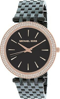 Michael Kors Women's Darci MK3407 Black Stainless-Steel Quartz Watch