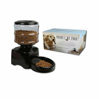 AUTOMATIC PET FEEDER CAT/ KITTEN VOICE Play DOG/PUPPY AUTO DISPENSER HOLIDAY …