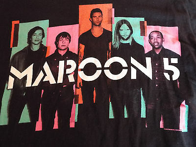 Maroon 5 - 2015 North America tour t-shirt - med size - ORLANDO CONCERT SHIRT