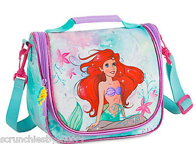Disney Store Princess Ariel Lunch Box Bag Tote Teal The Little Mermaid New 2016