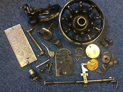 VINTAGE SINGER 99k SEWING MACHINE PARTS/ATTACHMENTS/ACCESSORIES N3