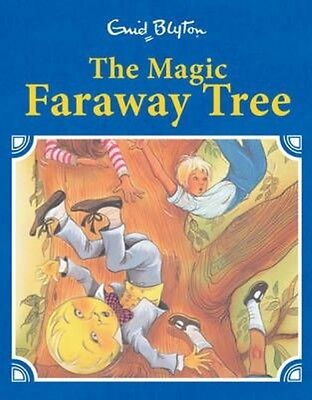 The Magic Faraway Tree Retro Illustrated by Enid Blyton Hardcover Book