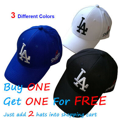 Los Angeles LA Dodgers Baseball MLB Unisex Hat Cap Mens & Womens Cotton AU Stock