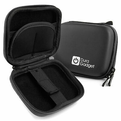 Black Hard Case with Carabiner Clip for Myzone MZ3 Activity Belt