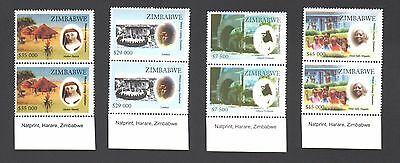Zimbabwe 2007 Women Creating Zimbabwe Imprint  Blocks Mnh