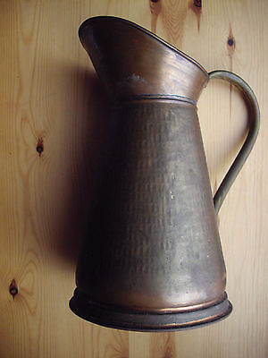 Jug Large Size Copper or Brass Vintage Free P&P