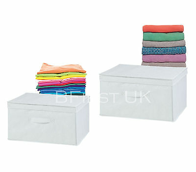 Foldable Storage Utility Box Folding Collapsible Cube Fabric Kids Bedroom Office