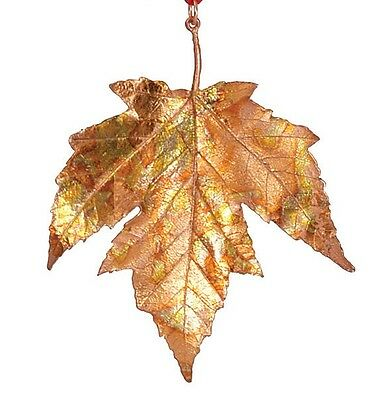 Maple Leaf Ornament by Michael Michaud for Silver Seasons #9368 - Gold/Copper