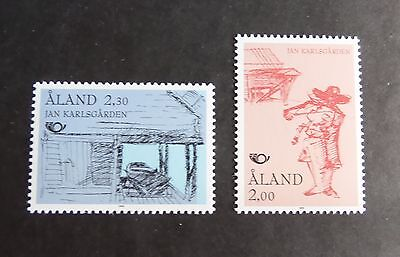 Aland 1993 Nordic Countries Postal Tourism Exhibits SG66/7 MNH UM unmounted mint