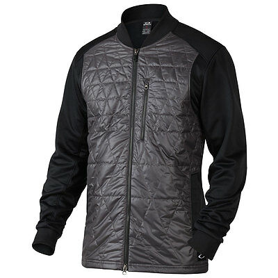 Oakley Golf 2016 Mens Rebellious Quilted Full Zip Windproof Jacket