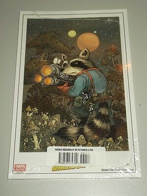 Rocket Raccoon Marvel Comics Lithograph Nm (9.4)