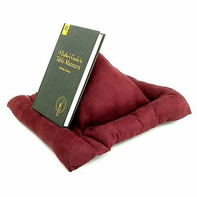 Book Holder Bookrest Cushion Stand & iPad Tablet Holder Bookholder With Bookmark