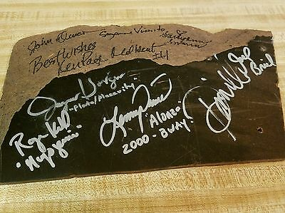 Autographed Piece of the Original Broadway Stage from CATS the Musical