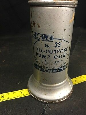 Vintage Eagle No. 33 All- Purpose Pump Oiler Can 6 oz.