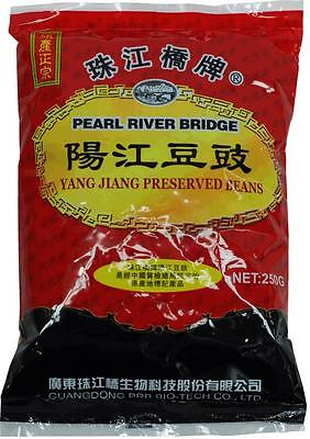 Chinese Salted & Fermented Black Beans Soybeans Chinese Douchi 250g Pack
