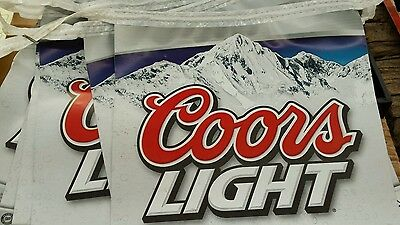 15' Coors Light String Pennant Banner.  2008
