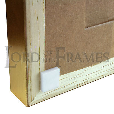 11mm Square White Foam Bumpers Pads - Self Adhesive - Picture Framing Furniture