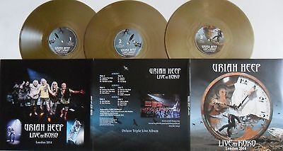 LP URIAH HEEP Live At Koko (3LP) GOLD VINYL - Frontiers 4046661383317 SEALED