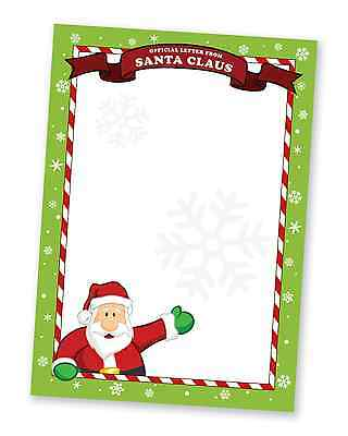 A4 Christmas Paper - Great for Letter from Santa Claus