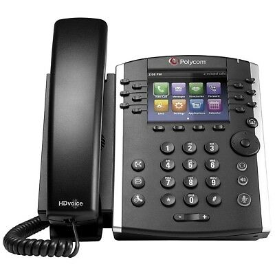 Polycom VVX 401 2200-48400-025 12-line Desktop Phone - Replaces VVX 400