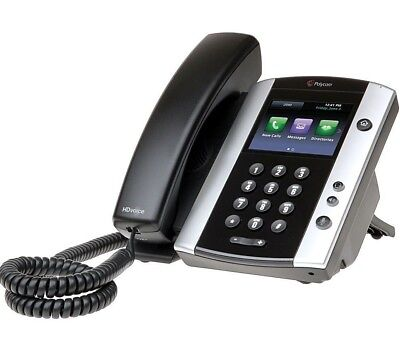 VVX 501 12-Line IP Phone w/ Touchscreen 2200-48500-025 , Brand New