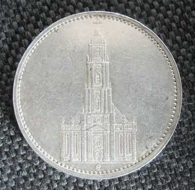 Production of the 3 Reichsmark coin ceased altogether. In , aluminium 50 Reichspfennig coins were introduced, initially for just the one year. In , nickel 50 Reichspfennig coins were issued and continued to be produced up to , before reverting to aluminum.