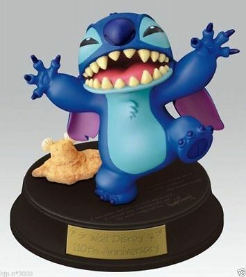 New!! Disney 110th Anniversary Lilo Stitch figure doll sold ONLY in Japan RARE!!