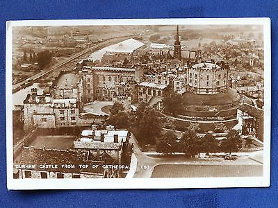 Millar & Lang photographic postcard: Durham Castle from top of Cathedral (10)