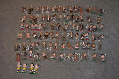Lot Of 86 Mainly Sealed Corinthian, Microstars Football Figures All Photographed