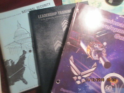 1962 USAF US Air Force Books Pamphlet LOT Leadership Training NATIONAL SECURITY