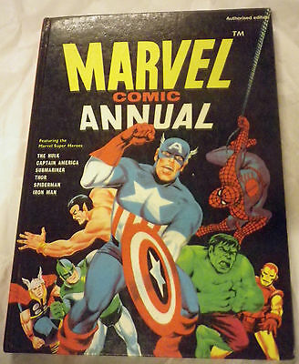 Marvel Comic Annual 1969  Avengers / Authorized Edition   Annual Hb