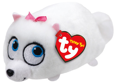 Ty Teeny Tys The Secret Life of Pets Gidget New w/ Heart Tags MWMT's Stackable