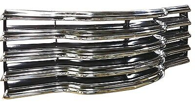 New Chrome & Black Grill 1947 1948 1949 1950 1951 1952 1953 Chevy Pickup Truck