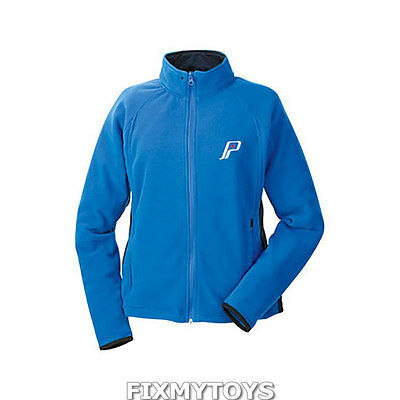 OEM Polaris Women's Powder Blue Polar Fleece Jacket w/ Retro Logo Size S-6XL