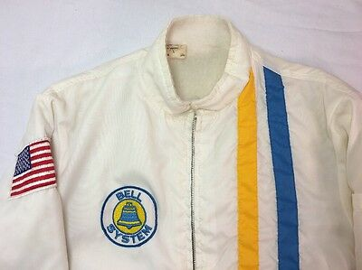 1970's Bell Systems, Bell Telephone, Employee Uniform Jacket, Size Small.